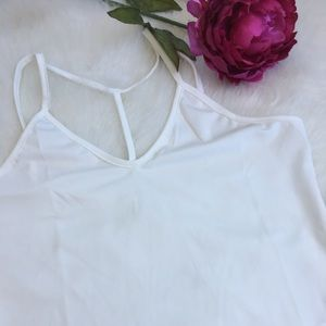 Tops - Medium White Lace top